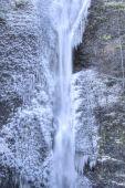Horsetail Falls Frozen — Stock Photo