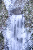 Multnomah Falls Frozen — Stockfoto