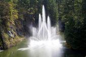 Large Fountain — Stock Photo