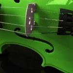 Green Violin — Stock Photo #57132233