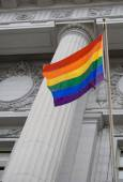Lgbt 骄傲的旗帜 — 图库照片