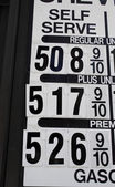 Gas Price — Stock Photo