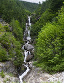 Ketchum Creek Falls Panorama — Foto Stock