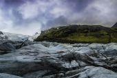 Svinafellsjokull Glacier — Stockfoto