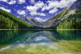 Avalanche Lake — Stock Photo