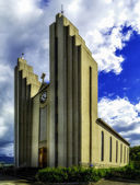 The Church in Akureyri — Stock Photo