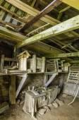 Turf House Interior — Stock Photo
