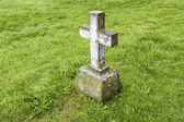 Grave Marker — Stock Photo