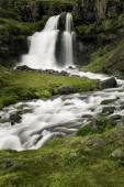 Dynjandi, a Waterfall in Iceland — Stock Photo