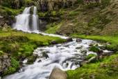 Dynjandi、アイスランドの滝 — ストック写真