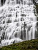 Dynjandi, vodopád na Islandu — Stock fotografie
