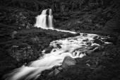 Dynjandi, a Waterfall in Iceland — Stock Photo