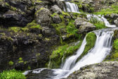 Dynjandi, a Waterfall in Iceland — Stockfoto