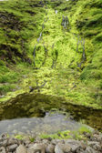 Small Waterfall with Moss — Stock Photo