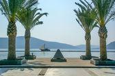 Marina, Porto Montenegro. Tivat, Montenegro — Stock Photo