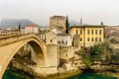 The Old Bridge in Mostar, Bosnia and Herzegovina — Stock Photo