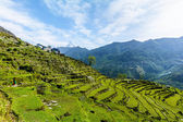 Annapurna Mountain Range, Nepal — Stock Photo
