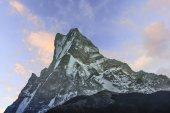 安纳布尔纳山脉尼泊尔 — 图库照片