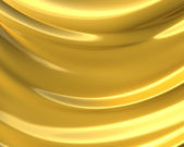Abstract golden cloth 3d background — Stock fotografie