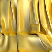 Background made of Golden cloth for a still-life — Stock Photo