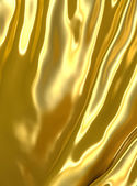 Abstract golden cloth background. — Stock Photo