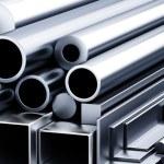 Set of metallic construction materials. — Stock Photo #66537507