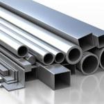 Постер, плакат: Set of metallic construction materials