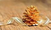 Christmas tree of fir cone — Stock Photo