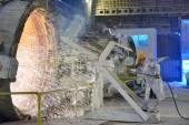 Clean blast furnace — Stock Photo