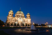 Berlin Cathedral (German: Berliner Dom) is a church in Berlin, Germany — Stock Photo