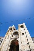 A Catedral de Lisboa é uma Igreja Católica Catedral de Lisboa — Fotografia Stock