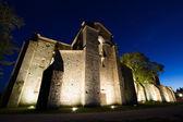 San Galgano roofless abbey in Tuscany — Stock Photo