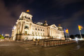 The Reichstag building is a historical edifice in Berlin — Stock Photo