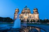 Berlin Cathedral (German: Berliner Dom) is a church in Berlin, G — Stock Photo