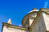 San Biagio is a church outside Montepulciano, Tuscany, central I — Stock Photo