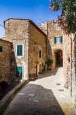 Campiglia Marittima is a comune (municipality) in the Italian re — Stock Photo