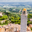 San Gimignano is a small medieval town in Tuscany — Stock Photo #59356773