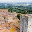 San Gimignano is a small walled medieval hill town in Tuscany — Stock Photo #61493541