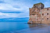 Torre Mozza old coastal tower in Tuscany — Stock Photo