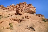 Charyn Canyon in Kazakhstan — Stock Photo