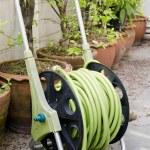 Garden hose wound — Stock Photo #57533633