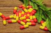 Pills capsules — Stock Photo