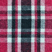 Seamless texture of fabric with plaid — Stock Photo