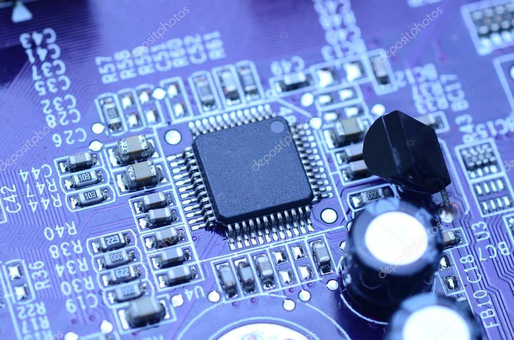 现代蓝电路板 — 图库照片08kwanchaidp#57626667