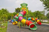 Colorful children playground — Stock Photo