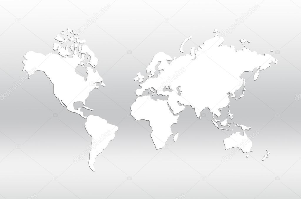 世界地图 — 图库照片08kwanchaidp#57680161