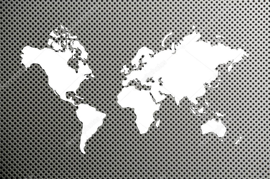 世界地图 — 图库照片08kwanchaidp#57680507