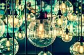 Vintage Lighting decor — Stock Photo