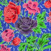 Pattern of floral ornament useful as background — Fotografia Stock