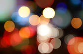 Night bokeh as christmas background — Stock Photo